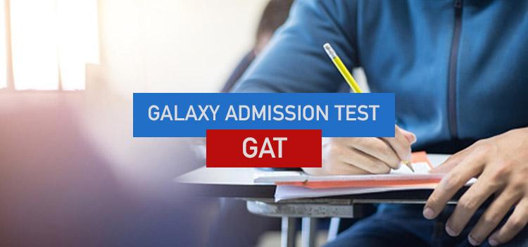 Galaxy Entrance Test - GET