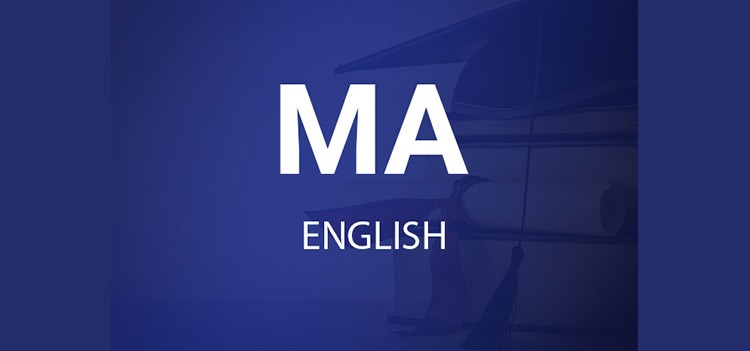 All about MA English Course