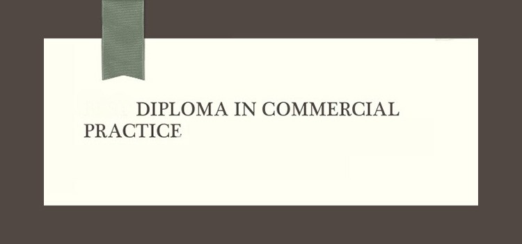 Career and Job roles after Diploma in Commercial Practice