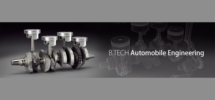 All about B.Tech/BE Automobile Engineering Course