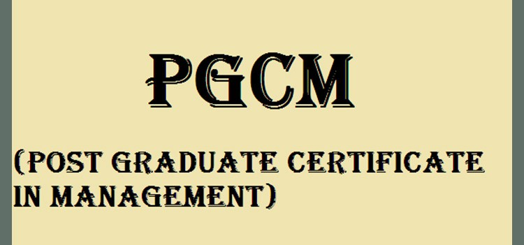 All about Post Graduate Certificate in Management