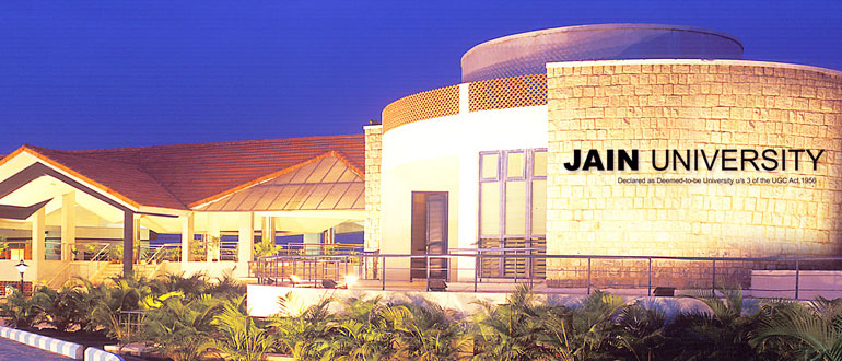 BBA admission in Jain University