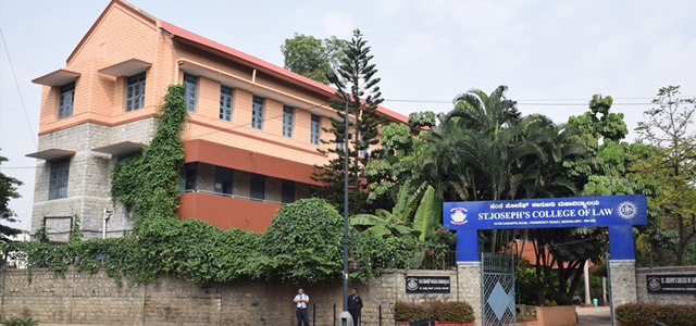 LLB admission in St.Joseph's College of Law