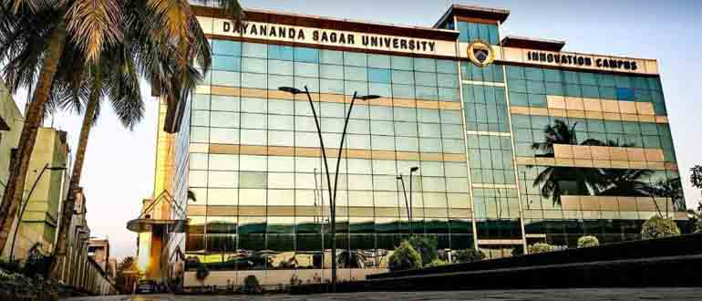 BSc Life Science admission in Dayananda Sagar University (DSU)