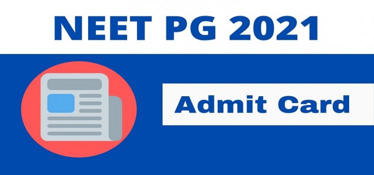 NEET-PG Admit Cards releasing soon..